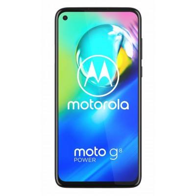 SIM Free Motorola G8 Power 64GB Mobile Phone - Smoke Black