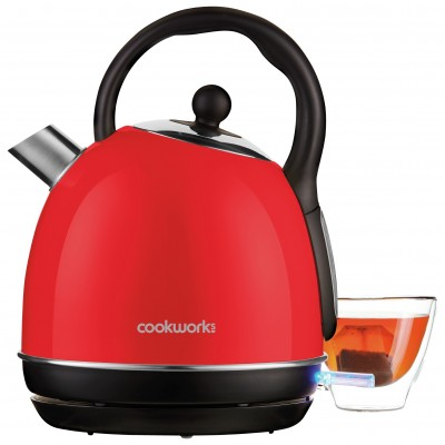 Cookworks Traditional Kettle - Red