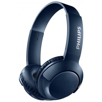 Philips SHB3075 Wireless On-Ear Headphones - Blue