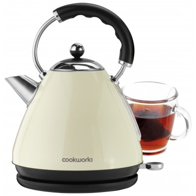 Argos Product Support For Cookworks Pyramid Kettle Almond