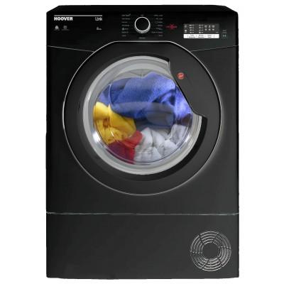 Hoover HLC8LGB 8KG Condenser Tumble Dryer - Black