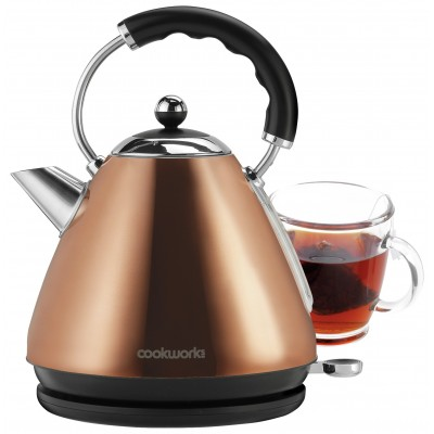 Buy Cookworks Pyramid Kettle Copper