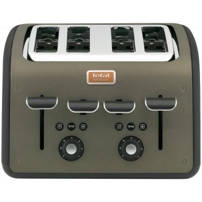 Tefal Maison 4 Slice Toaster - Gun Metal