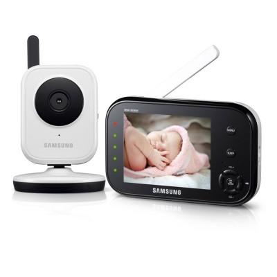 Samsung SEW-3036WP Video Baby Monitor and Fixed Camera