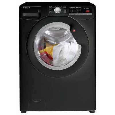 Hoover DXOA 67LB3B 7KG 1600 Spin Washing Machine - Black