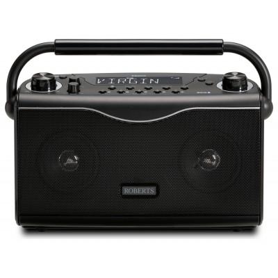 Roberts Eco4BT FM /DAB / DAB+ Bluetooth Radio- Black