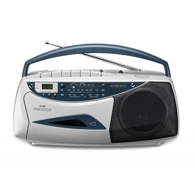Roberts RC9907 Radio Cassette Recorder - Silver
