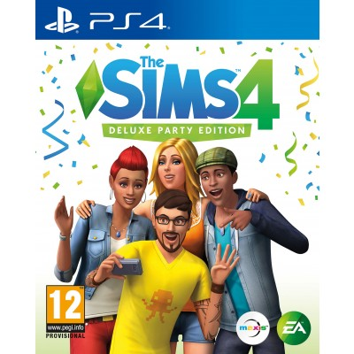 The Sims 4 Deluxe PS4 Game