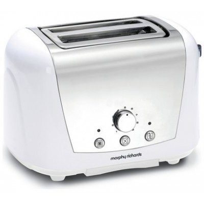 M RICHARDS ACCENTS DOME TOASTER WHITE