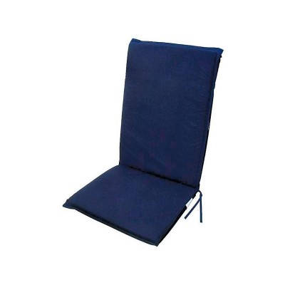 SOLID BLUE RECLINER CUSHION