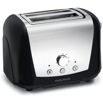 M RICHARDS ACCENTS DOME TOASTER BLACK