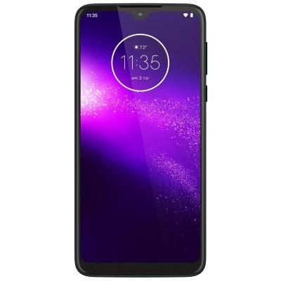 SIM Free Moto One 64GB Macro Mobile Phone - Blue