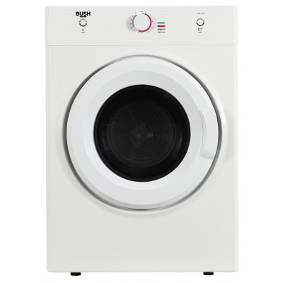 Bush DHB7VTDW 7KG Vented Tumble Dryer - White