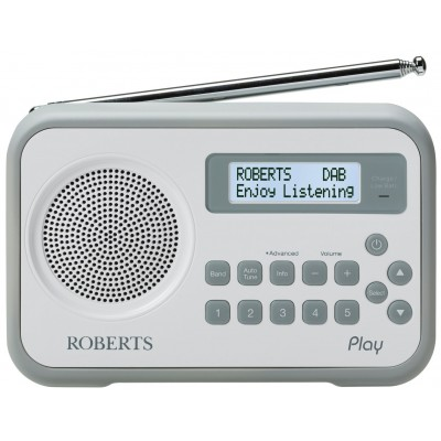 Roberts Play Digital Radio - Grey