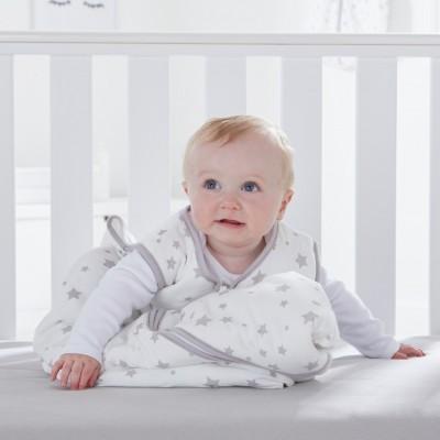 Silentnight Stars Baby Sleeping Bag - Grey