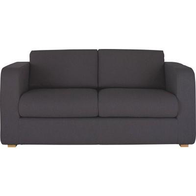 Habitat Porto Fabric 2 Seat Sofa Bed - Charcoal