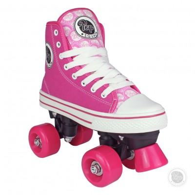 Pop Squad Pink Midtown Quad Skate - Size 3