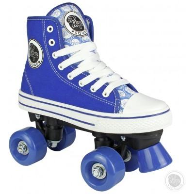 Pop Squad Blue Midtown Quad Skate - Junior 13