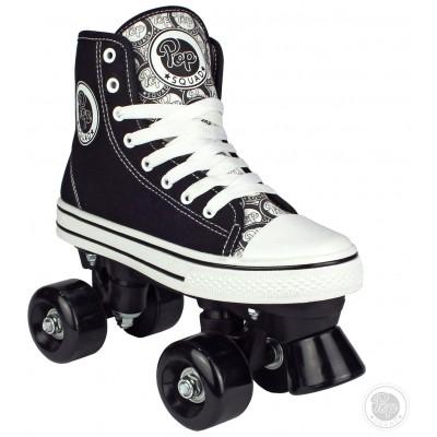 Pop Squad Black Midtown Quad Skate - Size 1