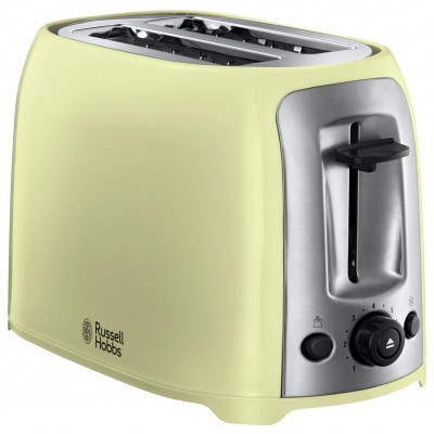 Russell Hobbs 23863 Darwin 2 Slice Toaster - Cream