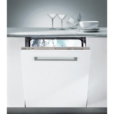 Baumatic BDI1L38S Integrated Slimline Dishwasher - White
