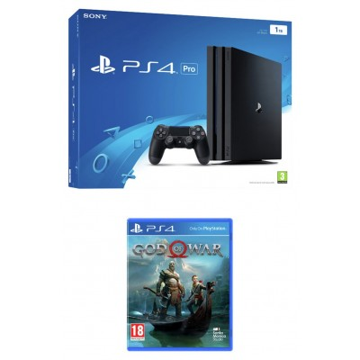 PS4 Pro 1TB Console with God of War