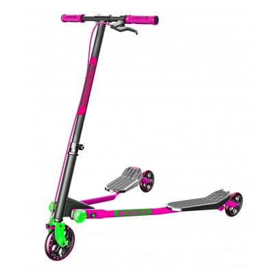 Y Fliker A3 Air Series Scooter - Pink & Green