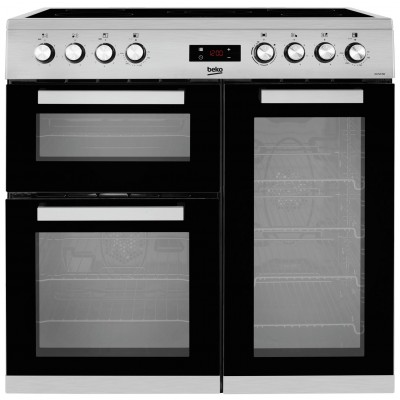 Beko KDVC90X 90cm Electric Range Cooker - Stainless Steel