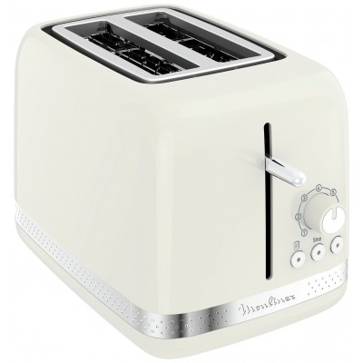 Moulinex LT300A41 2 Slice Toaster - Ivory