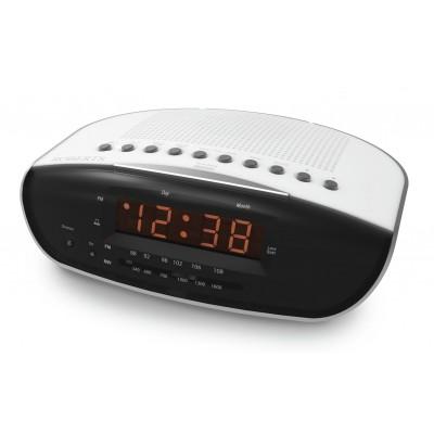 Roberts Chronologic VI FM Clock Radio - White