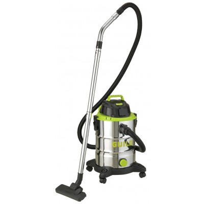 Guild 30L Wet & Dry Cleaner with Power Take Off – 1500W