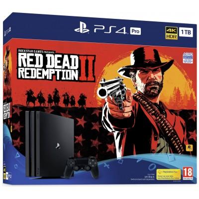 PS4 Pro 1TB Console & Red Dead Redemption 2 Bundle Pre-Order