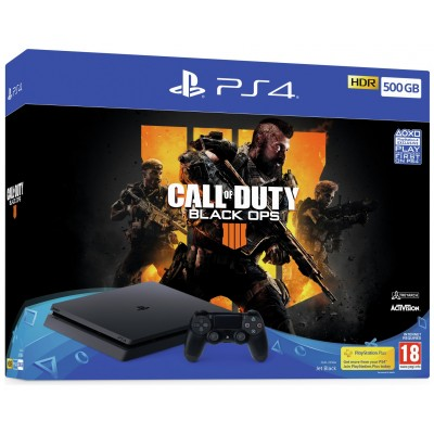 Sony PS4 500GB Console & Call of Duty: Black Ops 4 Bundle