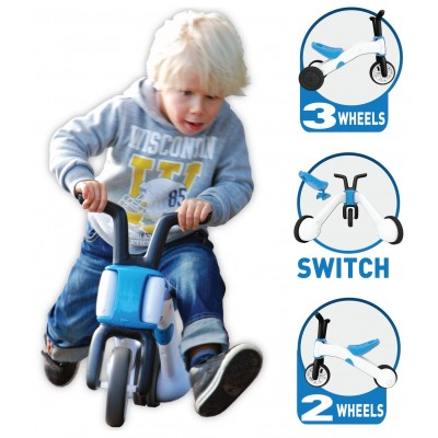 Chillafish Bunzi 2 in 1 Gradual Balance Bike Blue
