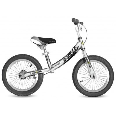 WeeRide Deluxe Balance Bike - Silver