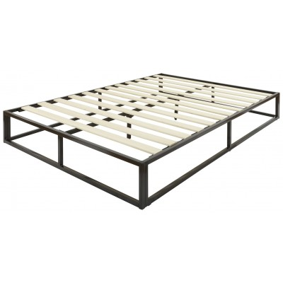 GFW Platform Small Double Bed Frame - Black