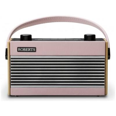ROBERTS RAMBLER RETRO DAB FM RADIO PINK