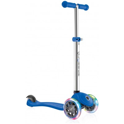Globber Primo Lights Scooter - Blue