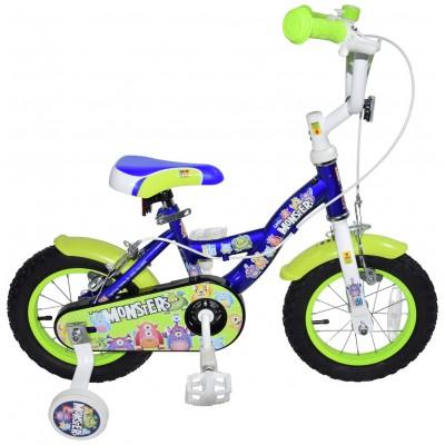 Click n Go 12 Inch Little Monsters Kids Bike