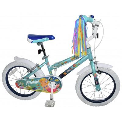 Click n Go 16 Inch Mermaid Kids Bike