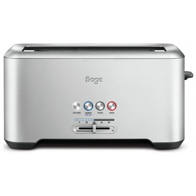 Sage BTA730UK A Bit More 4 Slice Toaster - Stainless Steel