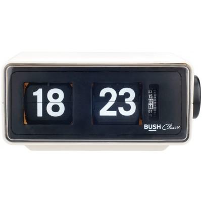 BUSH CLASSIC RETRO FLIP CLOCK RADIO CREA