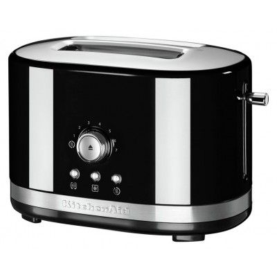 KitchenAid Manual Control 2 Slice Toaster - Black