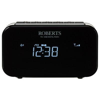 Roberts Radio Ortus 1 DAB+ / FM Alarm Clock Radio - Black