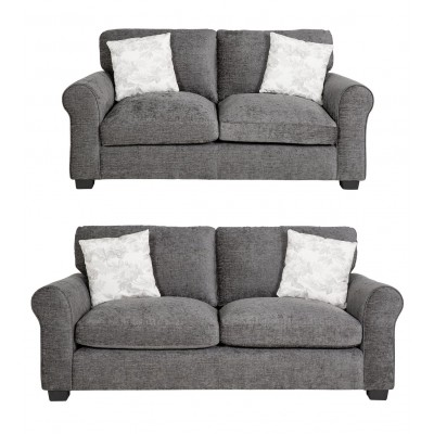 AH TAMMY 2 AND 3 SEATER CHARCOAL