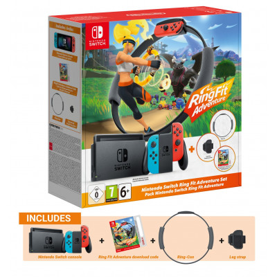 NINTENDO SWITCH RING FIT EDITION CON