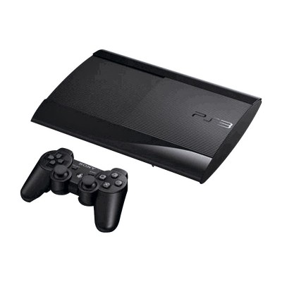 PS3 SLIM CONSOLE WITH 500GB HARD DRIVE