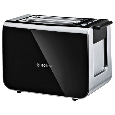 Bosch TAT8613GB Styline 2 Slice Toaster - Black