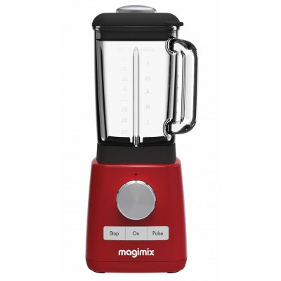 MAGIMIX1.8L GLASS JUG BLENDER RED