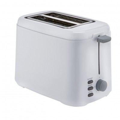Cookworks 2 Slice Toaster - White